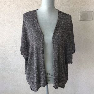 Poetry Lightweight Coverup Cardigan Sweater Medium